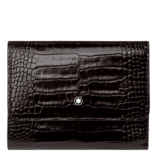 MONTBLANC OUTLET & MEISTERSTÜCK SELECTION WALLET 4CC WITH FLAP & ZIPPED COIN CASE